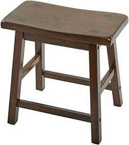ACME 07303 Set of 2 Gaucho Stool, 18-Inch, Walnut Finish # 0