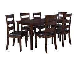 Powell 182-730A Linville 7 Piece Chair Set