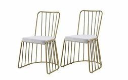 2 Modern Dining Chairs/ Kitchen Chairs/Accent Chairs with Me