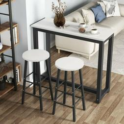 2019 Bar Table Set Pub Dining Furniture Counter Height Chair