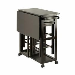 Winsome Wood 23330 Suzanne 3-PC Set Space Saver Kitchen, Smo