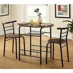 Bistro Table Set 3 Piece Dining For 2 Furniture Kitchen Coff