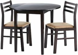 Coaster Home Furnishings 3-piece Dining Set with Drop Leaf C