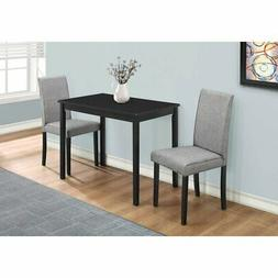 3 piece dining table set fabric