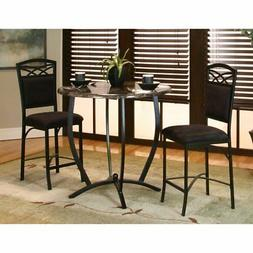 Sunset Trading 3 Piece Sierra Round Counter Height Dining Se
