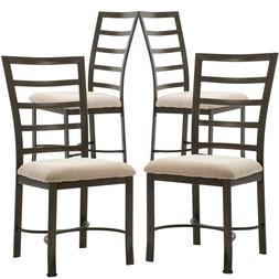 Set of 2 or 4 Dining Chairs, Kitchen Room Breakfast Wooden