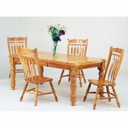 Sunset Trading 5-Piece Extension Dining Set with Aspen Chair