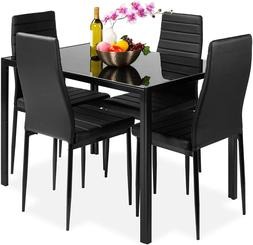Best Choice Products 5-Piece Kitchen Dining Table Set for Di