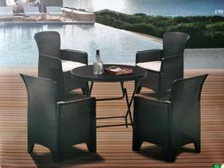 6 Pieces Patio Dining Furniture Sets All-Weather Outdoor Din