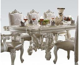 ACME Versailles Bone White Dining Table