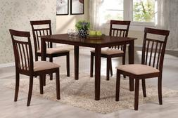 ACME 70325 5-Piece Samuel Dining Set, Espresso Finish