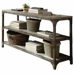 "ACME Furniture Acme 72685 Gorden 60"" Server, Weathered Oak A"