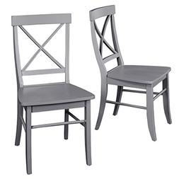 Target Marketing Systems 75118GRY PR Albury Set of 2 Dining