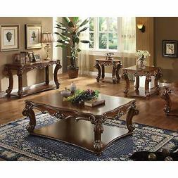 Acme Furniture 82004 Vendome Sofa Table with Scrolled Legs B