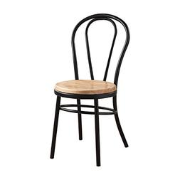 ACME Furniture 96815 Carys Black and Natural Side Chair