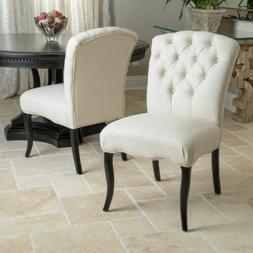 Alexander Natural Fabric Dining Chair
