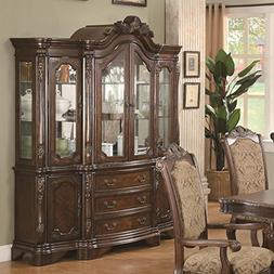 Andrea Dining China Hutch and Buffet by Coaster