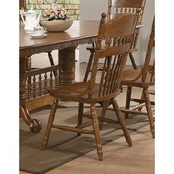 Coaster Home Furnishings 104272 Country Dining Chair, Oak, S