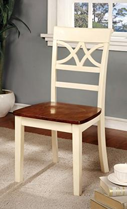 Furniture of America Cherrine Country Style Dining Chair, Oa