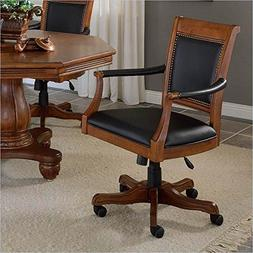 Hillsdale Kingston Square Leather Back Game Chair