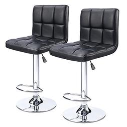 Homall Modern PU Leather Swivel Adjustable Barstools,Synthet