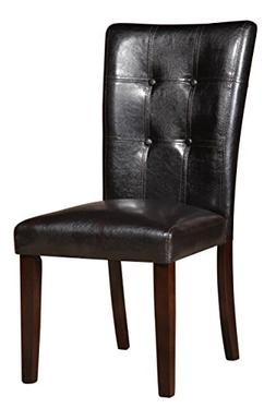 Homelegance 2456S Side Chair Upholstered, Set of 2