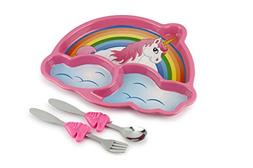 KidsFunwares Me Time Meal Set  – 3-Piece Set for Kids and