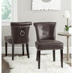 Safavieh Mercer Collection Sinclair Antique Brown Leather Ri