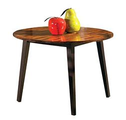 Steve Silver Abaco Double Drop Leaf Round Casual Dining Tabl