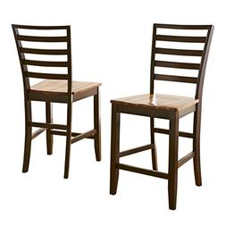 Abaco Ladder Back Counter Chair - Set of 2