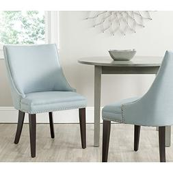Safavieh Afton Side Chair with Silver Nail Heads, Set of 2