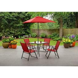 albany lane 6 piece outdoor patio dining