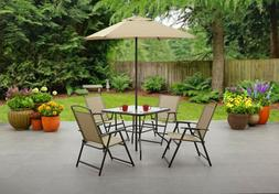 Mainstays Albany Lane Outdoor Patio Dining Set Multiple Colo