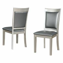 Roundhill Furniture Avignor Contemporary Upholstered Dining