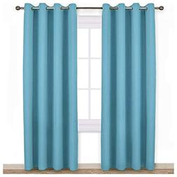NICETOWN Living Room Blackout Curtains - Window Treatment Th