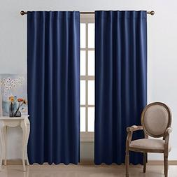 NICETOWN Vertical Blinds Window Curtain Panels -  52 by 84 I