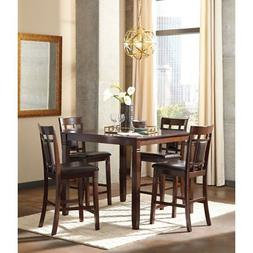 Ashley Furniture Bennox Brown Tone 5 Pc