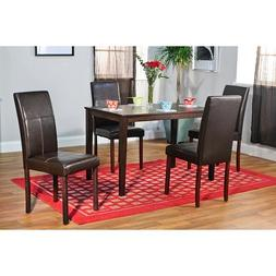 Simple Living Bettega Parson 5-piece Dining Set Espresso