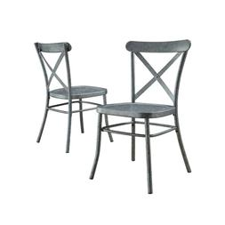 Better Homes and Gardens Collin Distressed Dining Chair, Set