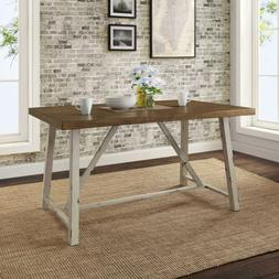 Better Homes & Gardens RusticFarmhouse Wood and Metal Dining