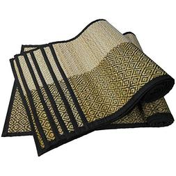 Benzara BM123949 Hand Crafted Set of 6 Tablemats/Placemats a