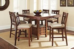 Steve Silver Company Bolton Counter Height Dining Table with
