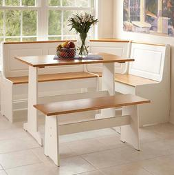 Copper Grove Breakfest Nook Dining Set With Pine Accents Woo