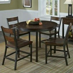 "Home Styles 5411-308 Cabin Creek 5 Piece 42"" Round Dining Se"