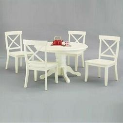 Home Styles Carlton 5 piece Round Pedestal Dining Set