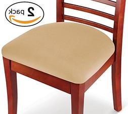 KLEEGER Chair Covers Protective & Stretchable: Fits Round Sq