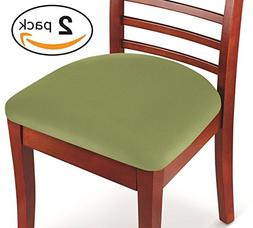 Kleeger Chair Covers Protective & Stretchable: Fits Round An