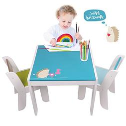 【Free Bag】 $5 off! Labebe Wooden Activity Table Chair Se
