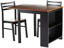 Coaster Home Furnishings CosterCasual Black and Chestnut Thr