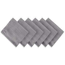 """DII Oversized 20x20"""" Cotton Napkin, Pack of 6, Variegated Gr"""